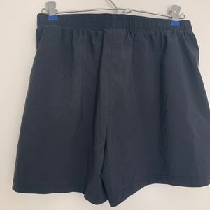 Under Armor Black Soccer Shorts with Draw String